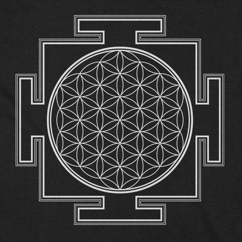 Flower of Life Yantra YogaGeek Design