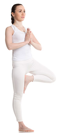 Vrkshasana - Tree Pose