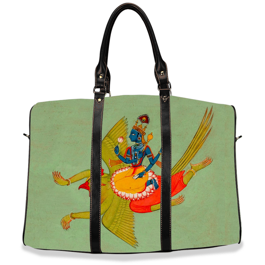 Garuda Carrying Vishnu Travel Bags