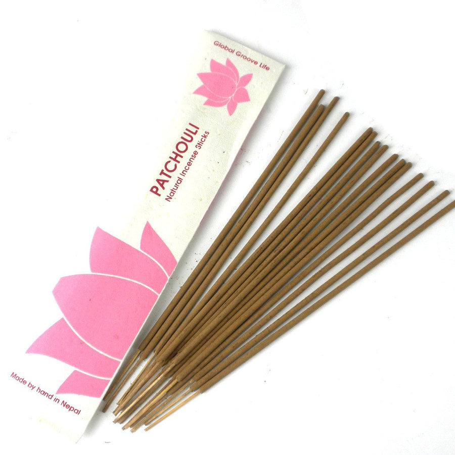 Stick Incense, Patchouli - Global Groove (Fair Trade)