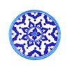 Blue Pottery Trivet - Indigo - Matr Boomie (Fair Trade)