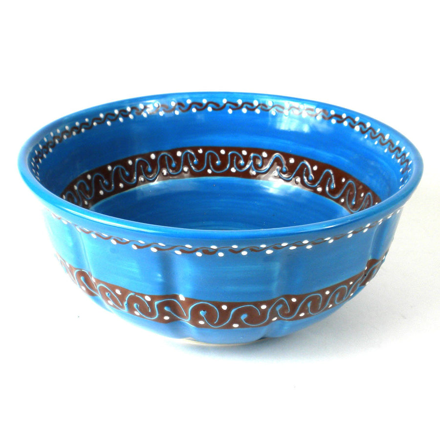 Large Bowl - Azure Blue - Encantada (Fair Trade)