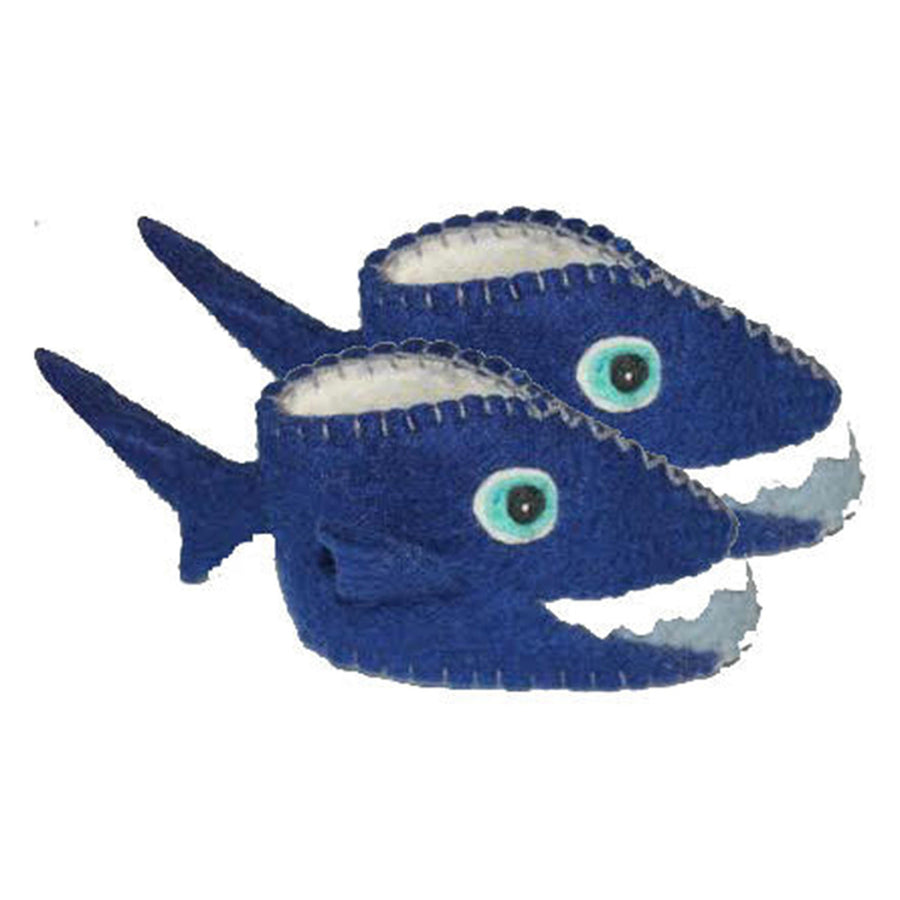 Shark Zooties Baby Booties - Silk Road Bazaar (Fair Trade)