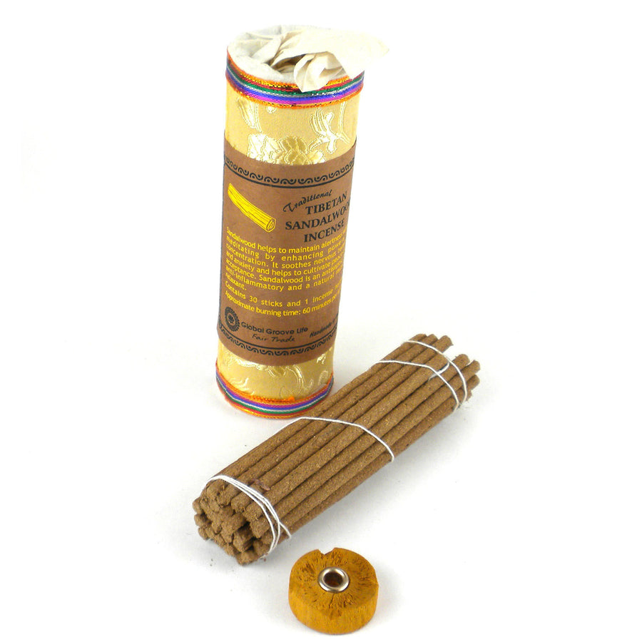 Tibetan Incense - Sandalwood - Global Groove (Fair Trade)