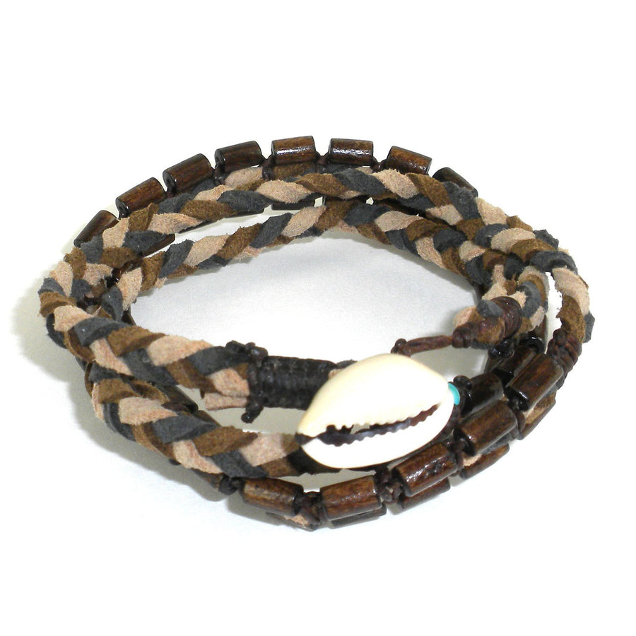 Mens Vegan Wrap Bracelet - Renaissance - Global Groove (Fair Trade)
