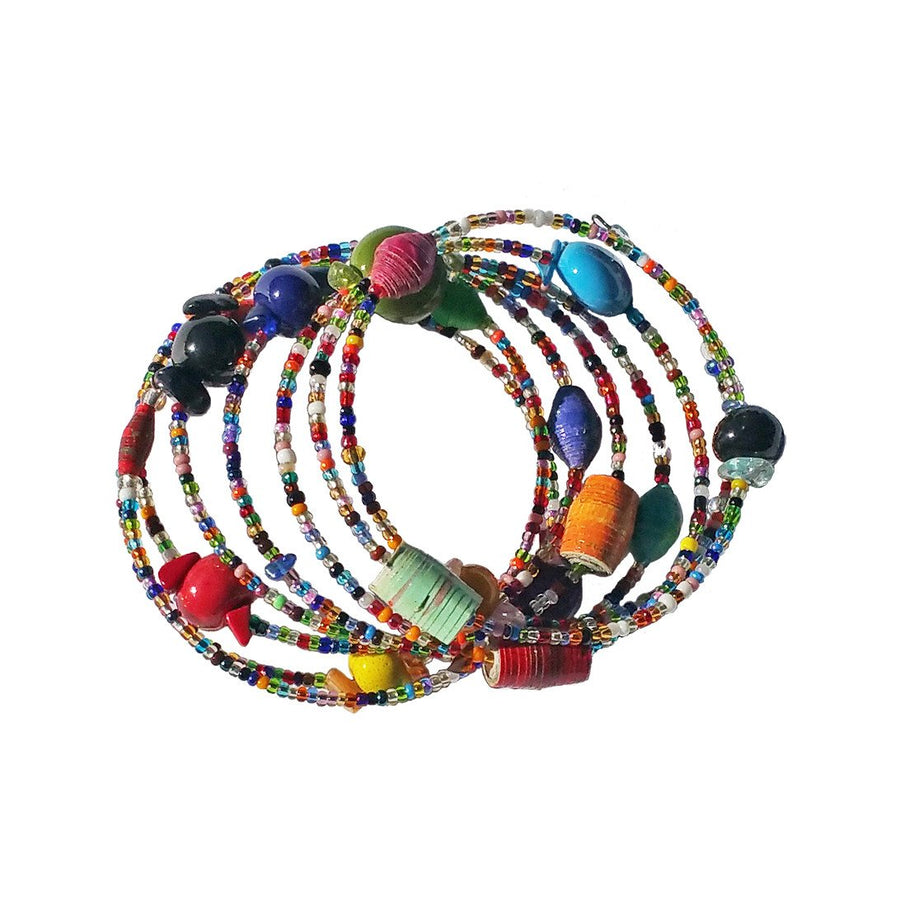 Funky Spiral Bracelet Original - Imani Workshop (Fair Trade)