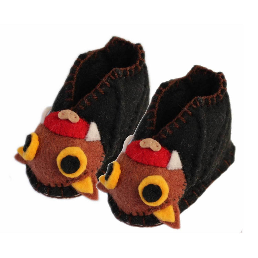 Bat Zooties Baby Booties - Silk Road Bazaar (Fair Trade)