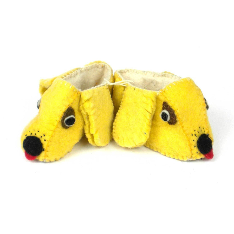 Golden Retriever Zooties Baby Booties - Silk Road Bazaar (Fair Trade)