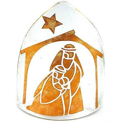 Handmade Copper Artisan Glass Nativity Candle Cover - Calypso Chile (Fair Trade)