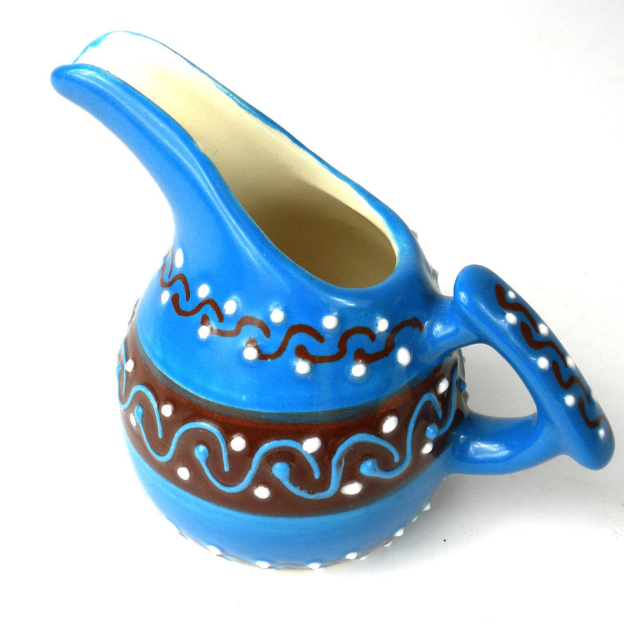 Mini Creamer - Azure Blue - Encantada (Fair Trade)