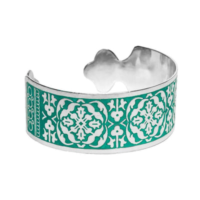 Arabesque Cuff - Teal - Matr Boomie (Fair Trade)