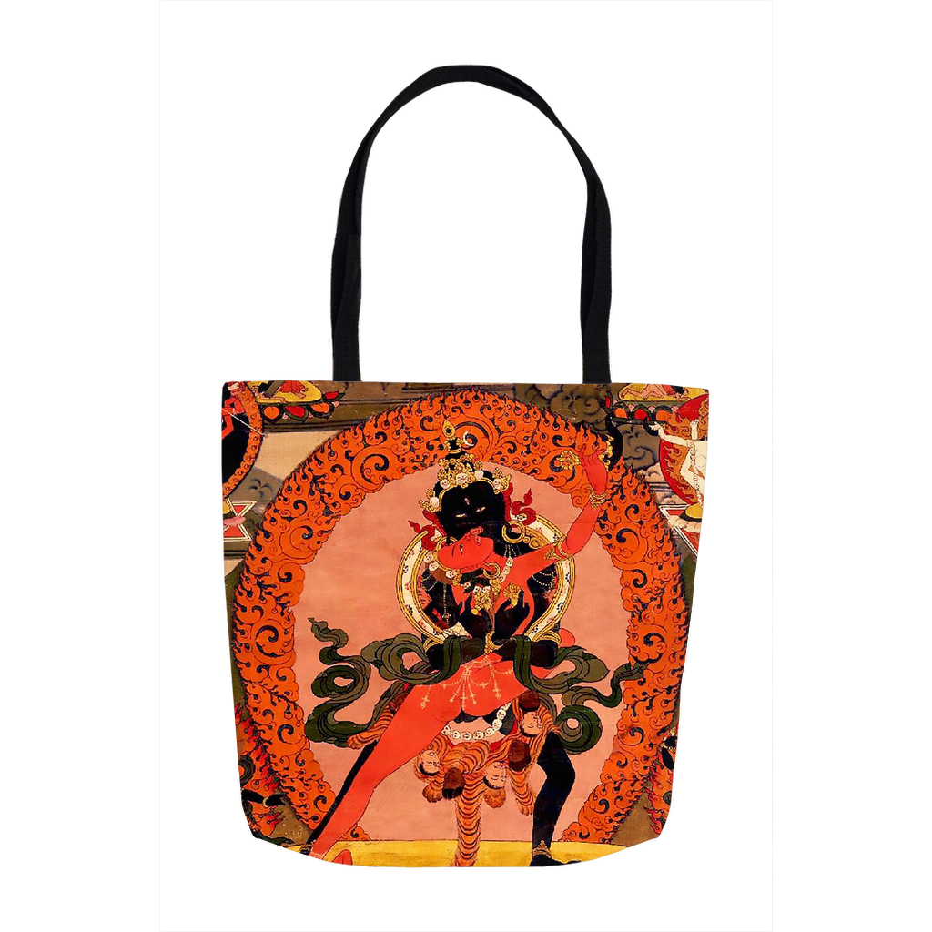 Mahakala and Shakti Tote Bag