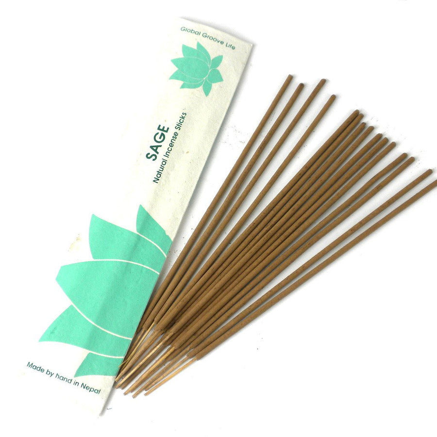 Stick Incense, Sage - Global Groove (Fair Trade)
