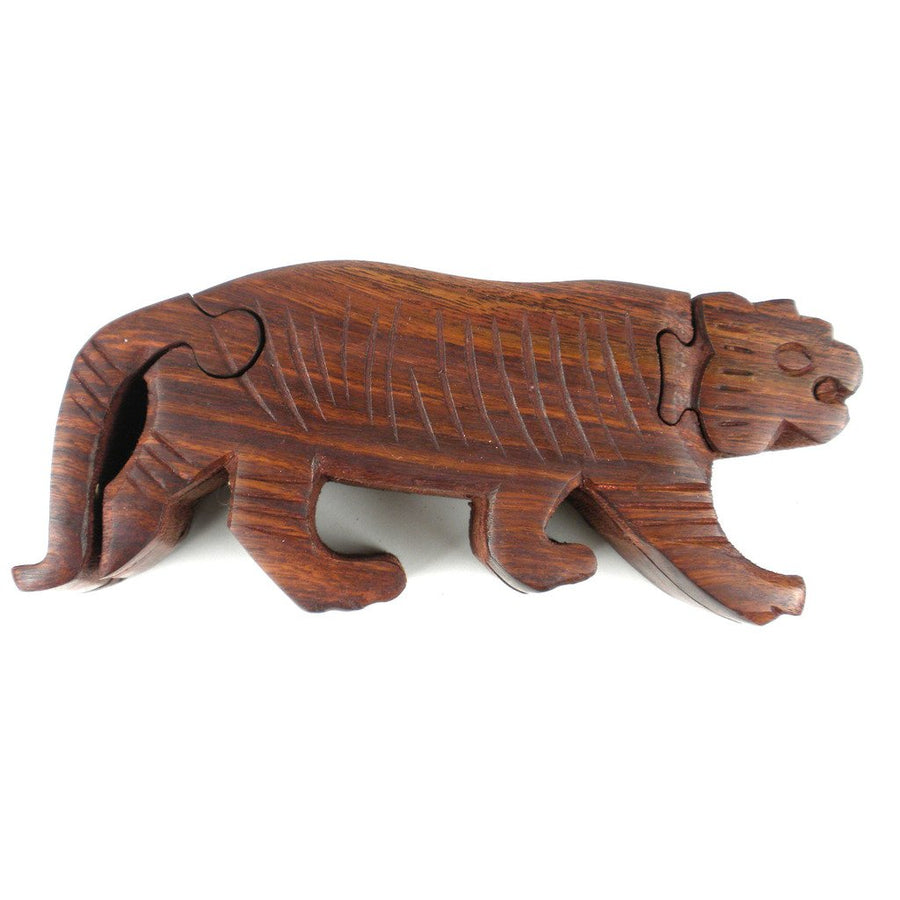 Tiger Puzzle Box - Matr Boomie (Fair Trade)