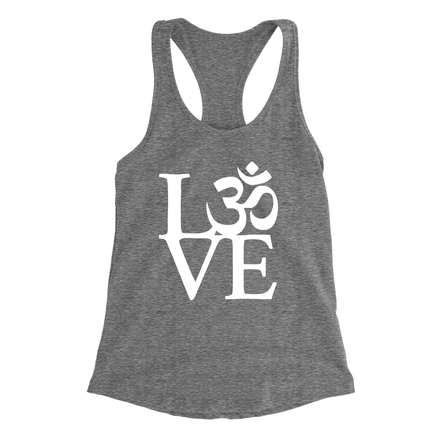 OM Love Women's Racerback Tank Top