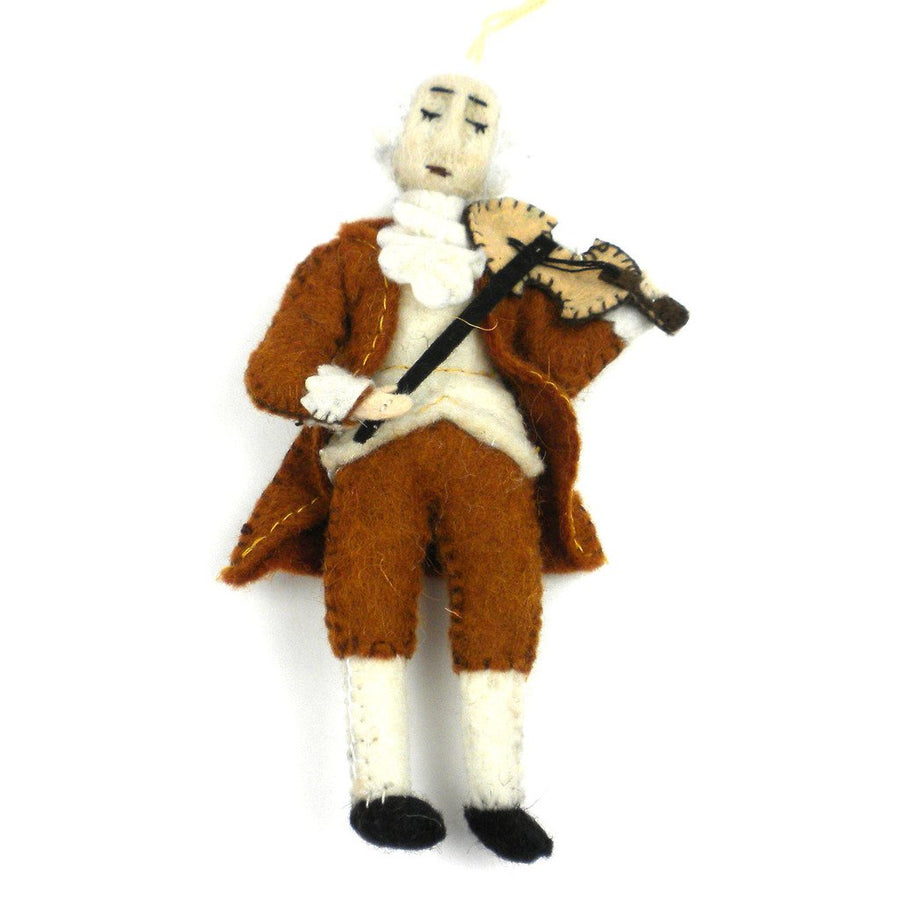 Mozart Felt Ornament - Silk Road Bazaar (Fair Trade)