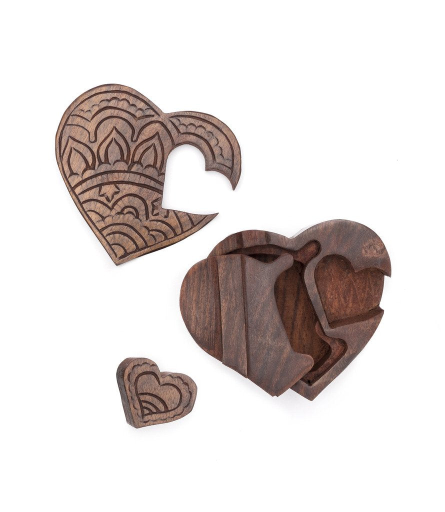 Hearts Are One Puzzle Box - Matr Boomie (Fair Trade)