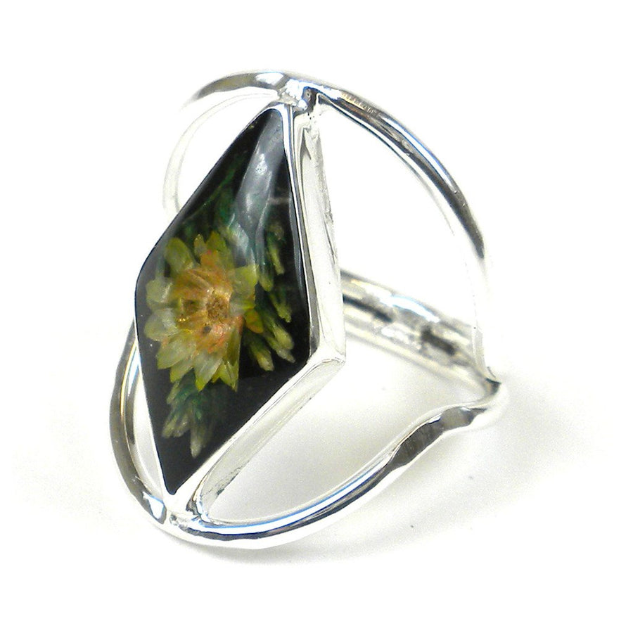 Nahua Flower Ring - Size 7 - Artisana (Fair Trade)