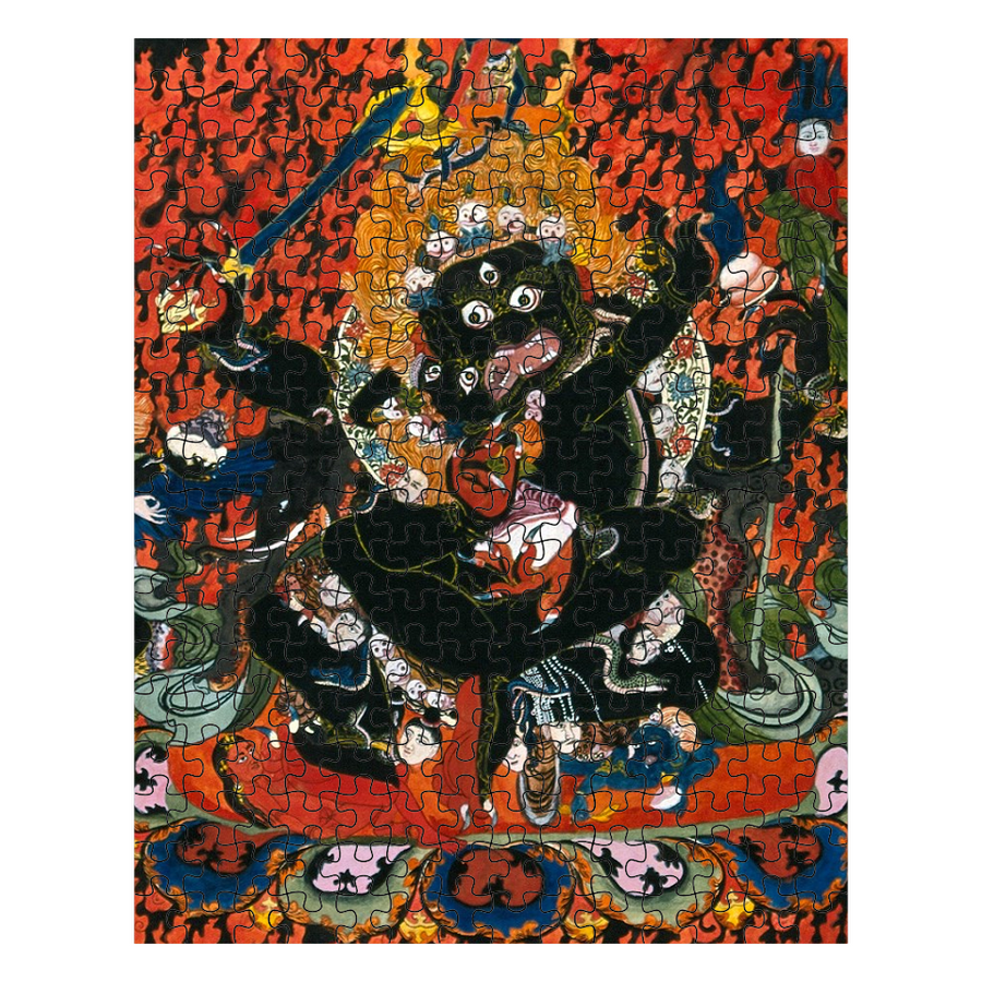Mahakala and Shakti Puzzle