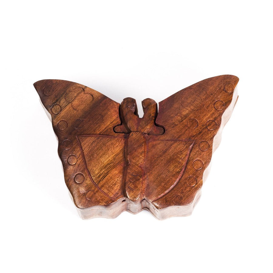 Butterfly Puzzle Box - Matr Boomie (Fair Trade)