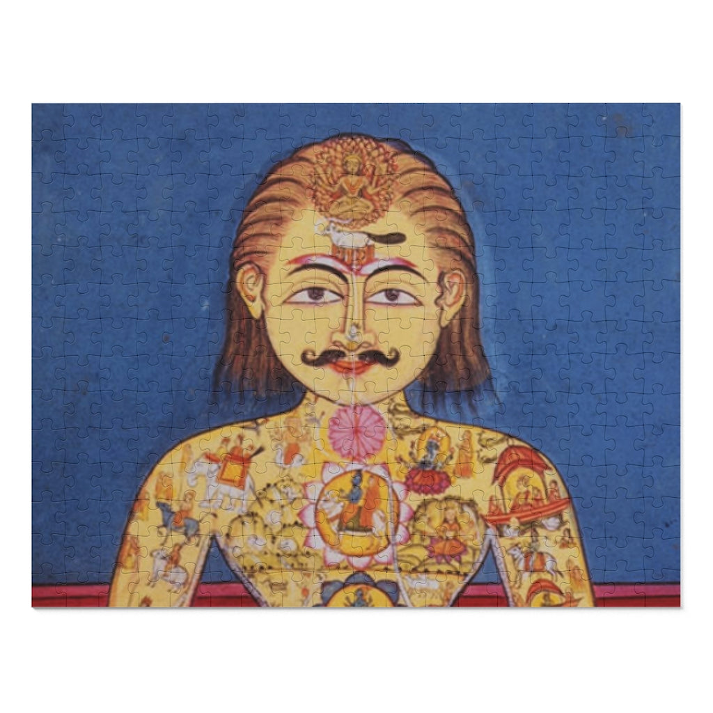 Illustrated Yogi From 19th Century Indian Painting 252 Piece Puzzle