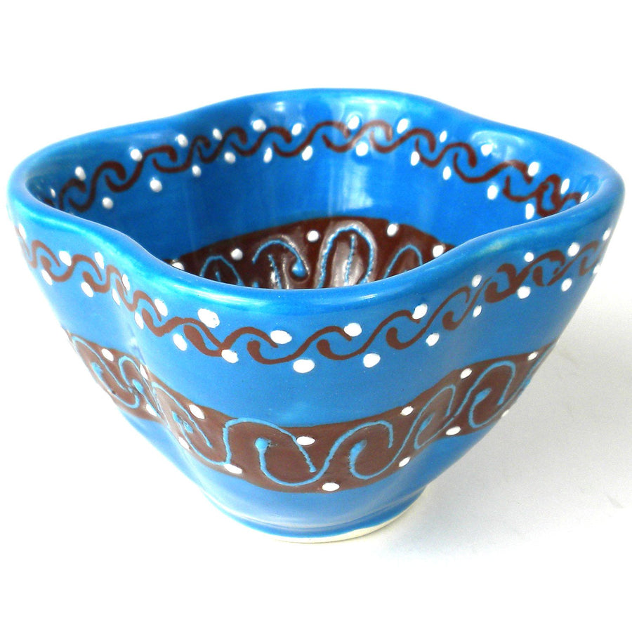 Dip Bowl - Azure Blue - Encantada (Fair Trade)