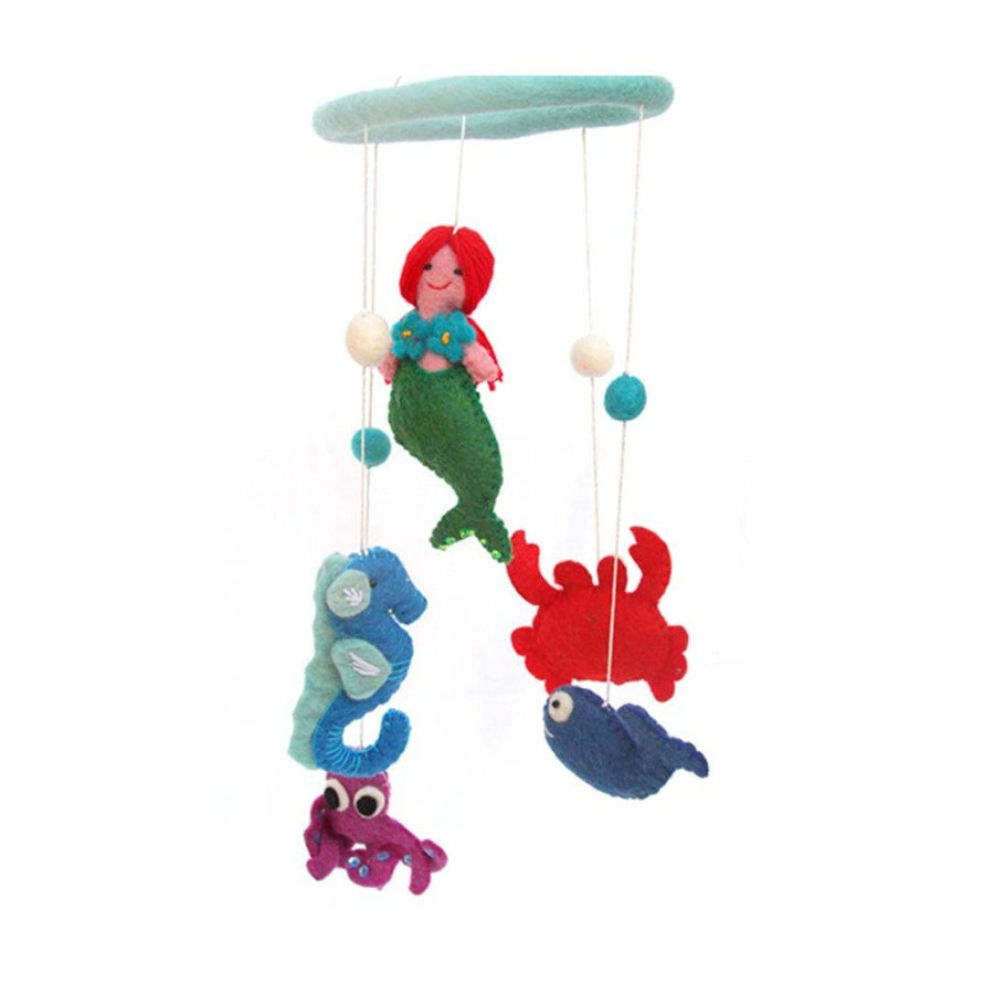 Felt Mermaid Mobile - Global Groove (Fair Trade)