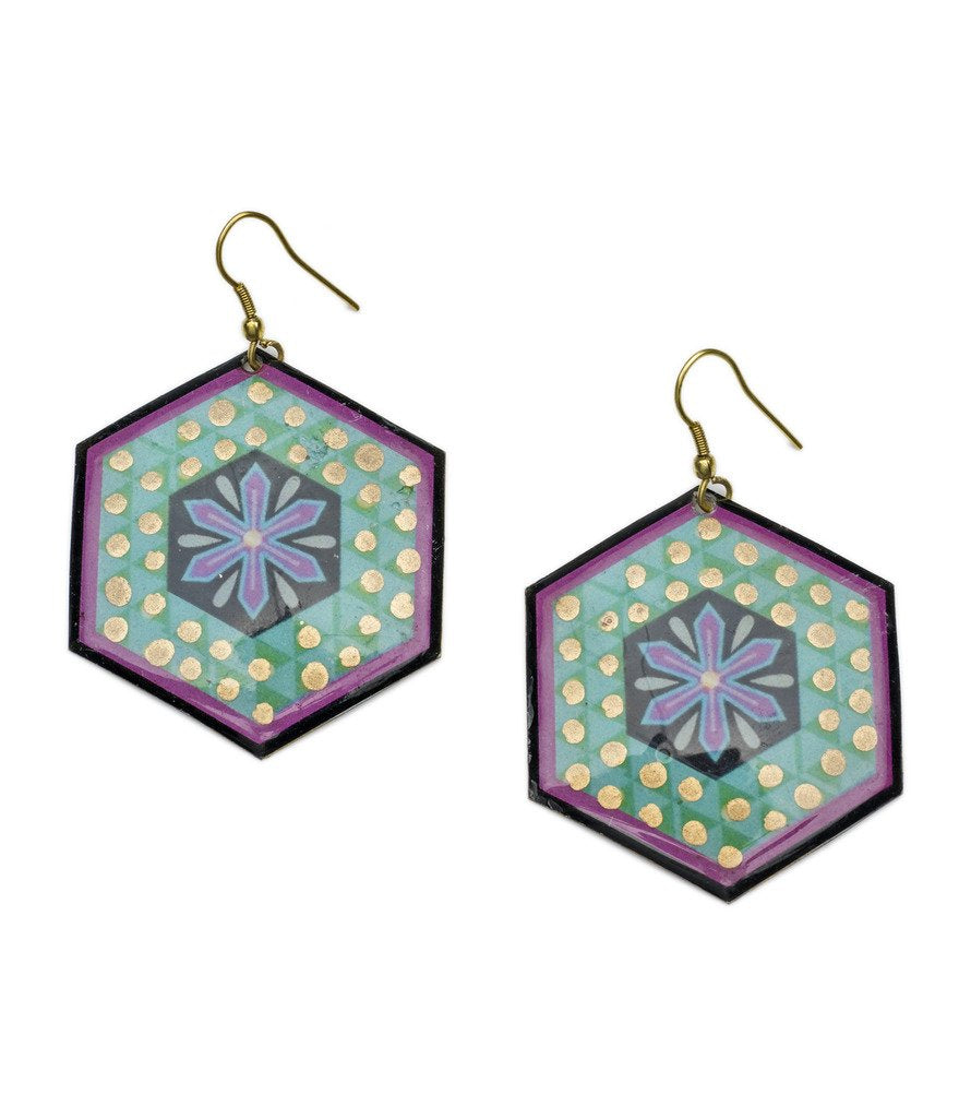 Bollywood Earrings - Tulsi - Matr Boomie (Fair Trade)