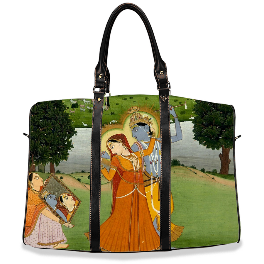 Krishna and Radha Travel Bag