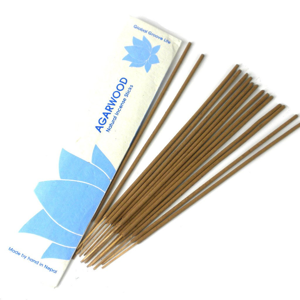 Stick Incense, Agarwood - Global Groove (Fair Trade)