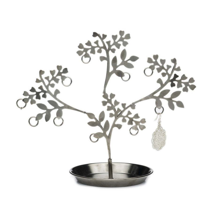 Vana Devata Jewelry Stand - Blackened Silver - Matr Boomie (Fair Trade)
