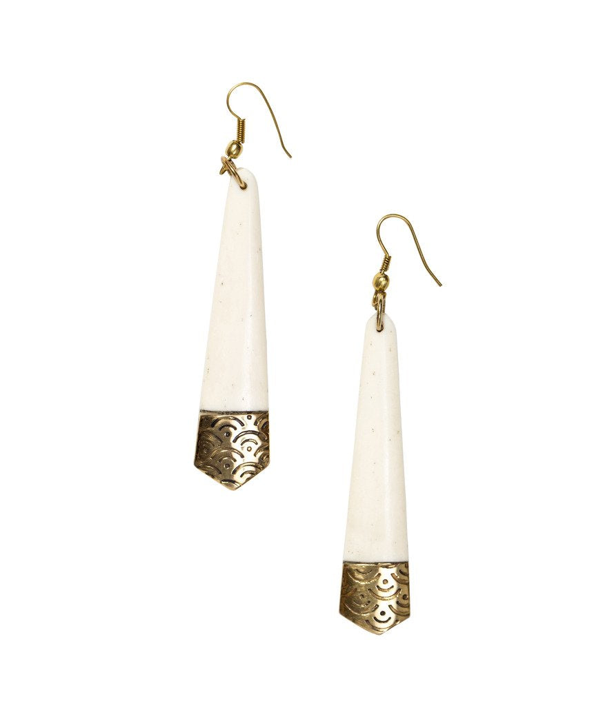 Anika Earrings Tapered Design - Matr Boomie (Fair Trade)