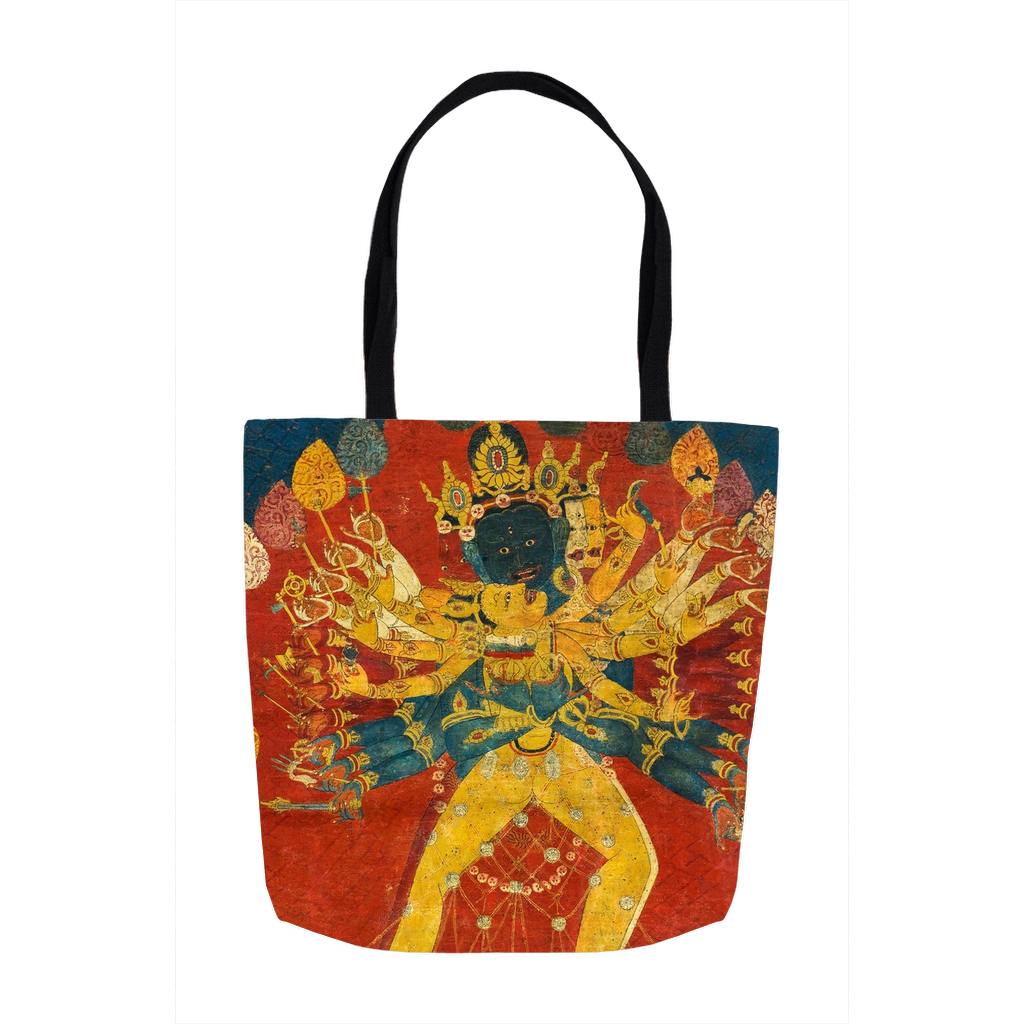 Mahakala and Shakti Tote Bags