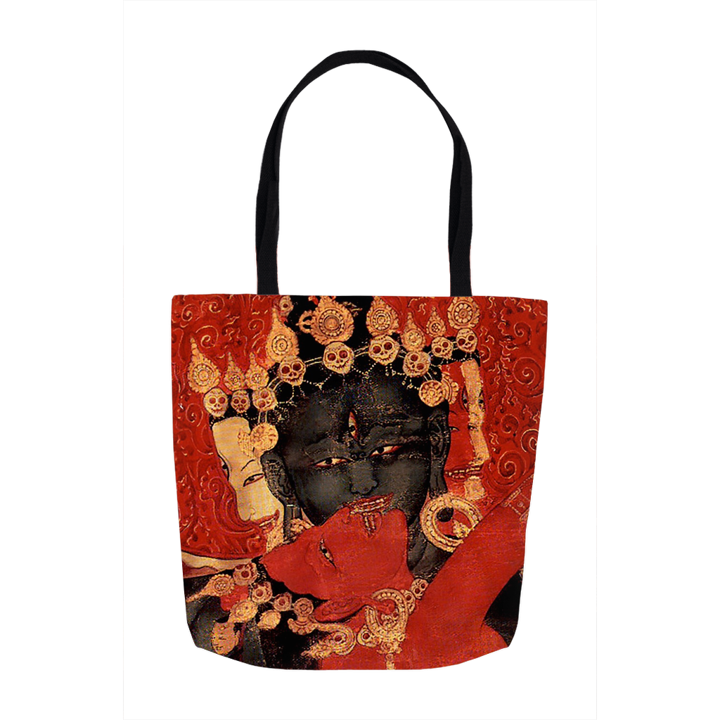 The Kiss - Mahakala and Shakti Tote Bag