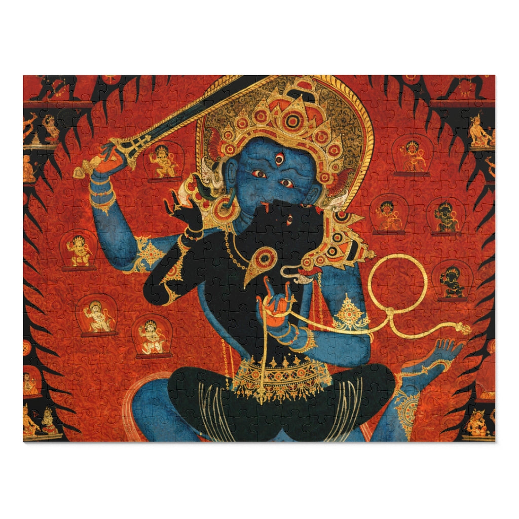 Tibetan Thangka Detail of Yab-Yum 252 Piece Puzzle