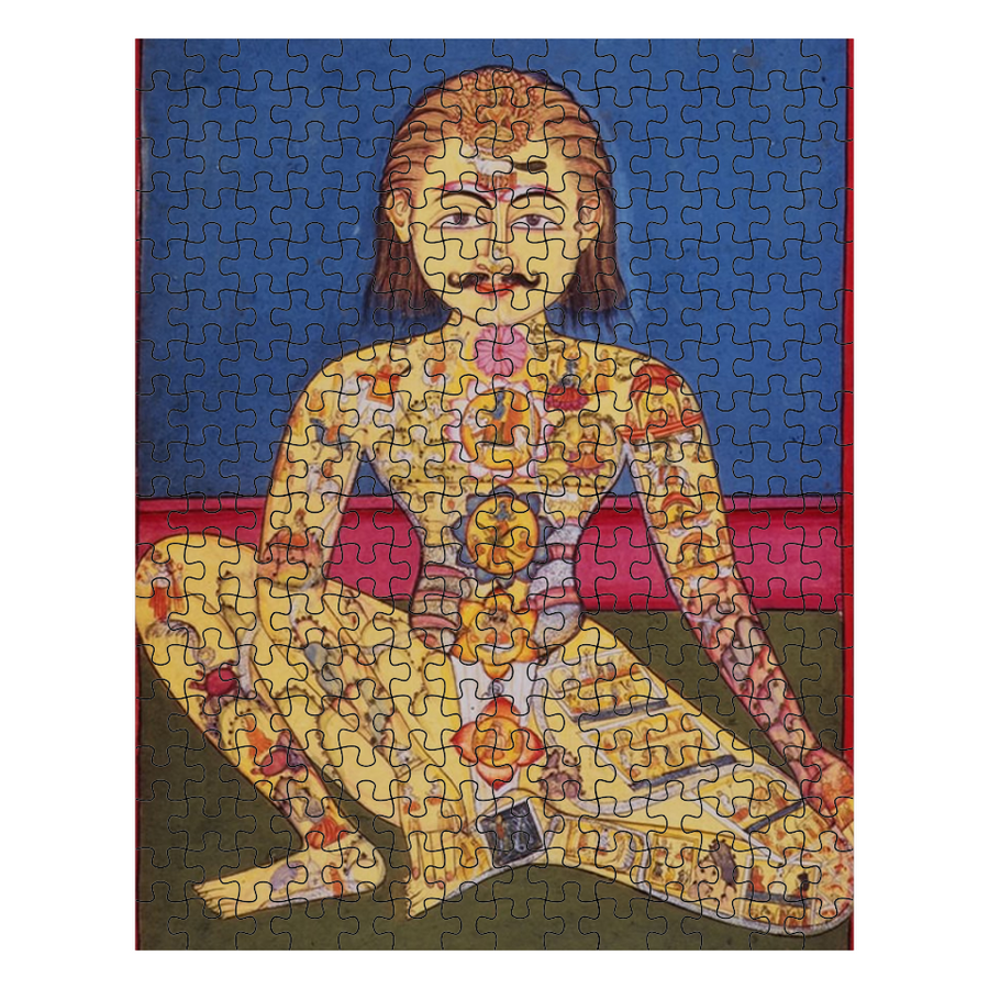 Illustrated Yogi Puzzle
