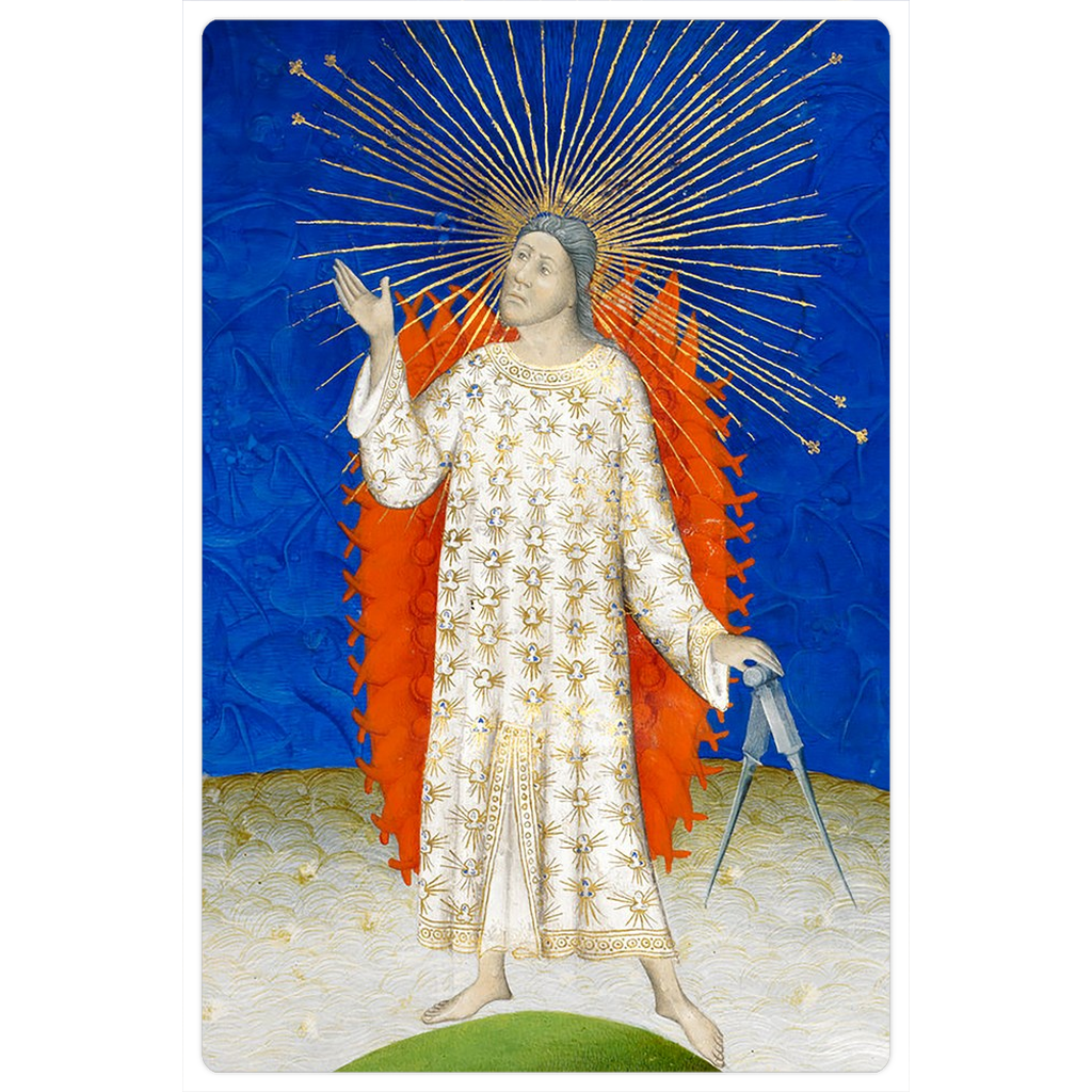 "The Creator of the Universe 4x6"" Medieval Art Magnet"