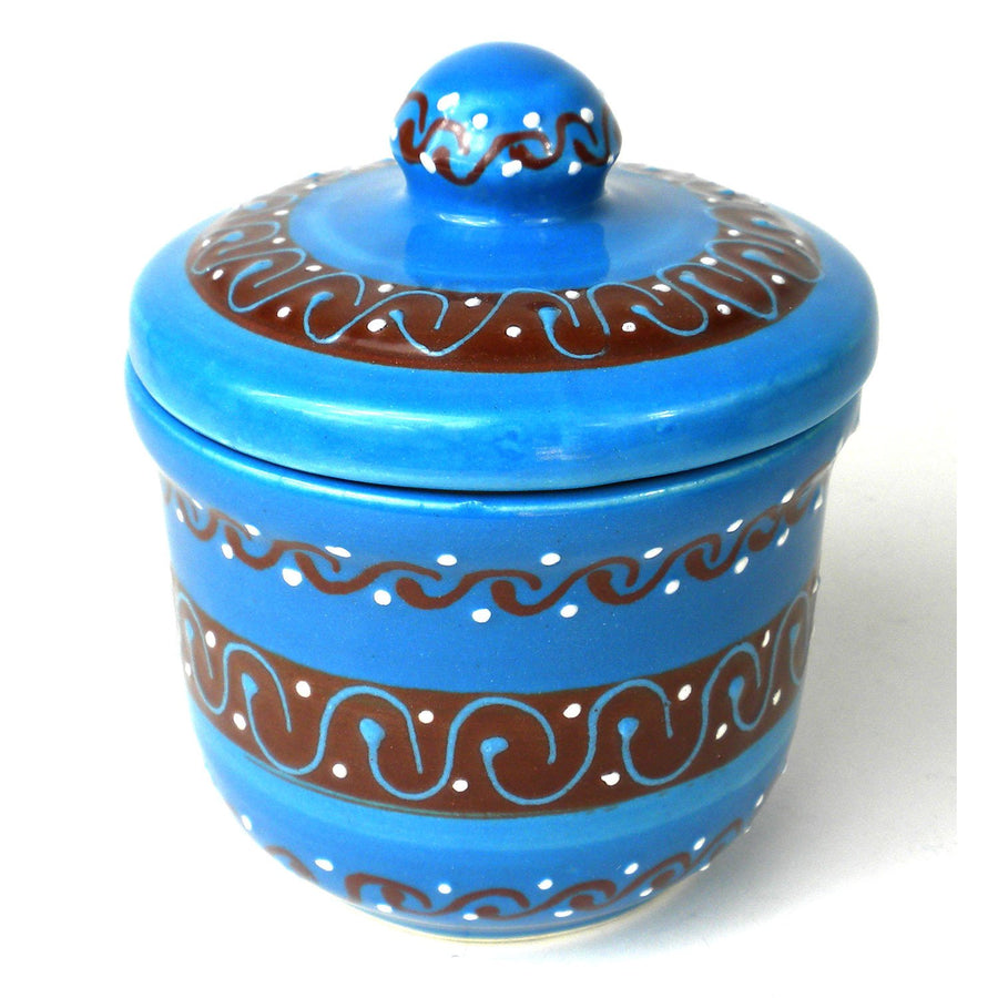 Sugar Bowl - Azure Blue - Encantada (Fair Trade)