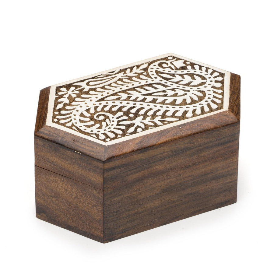 Aashiyana Wood Box - Paisley - Matr Boomie (Fair Trade)