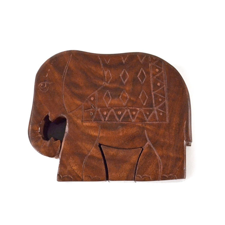 Elephant Puzzle Box - Matr Boomie (Fair Trade)