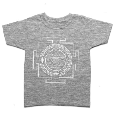 Sri Yantra Yoga Kid's T-shirt
