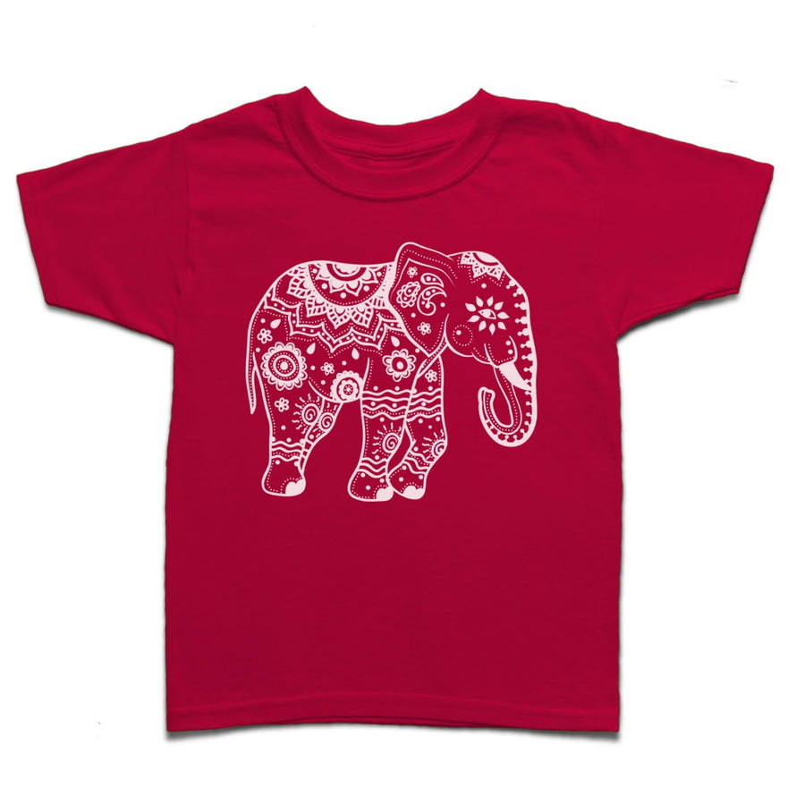 Tribal Elephant #1 Kid's T-shirt