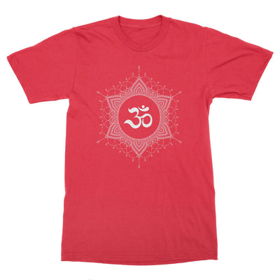 OM Mandala #6 Men's T-Shirt – White Design