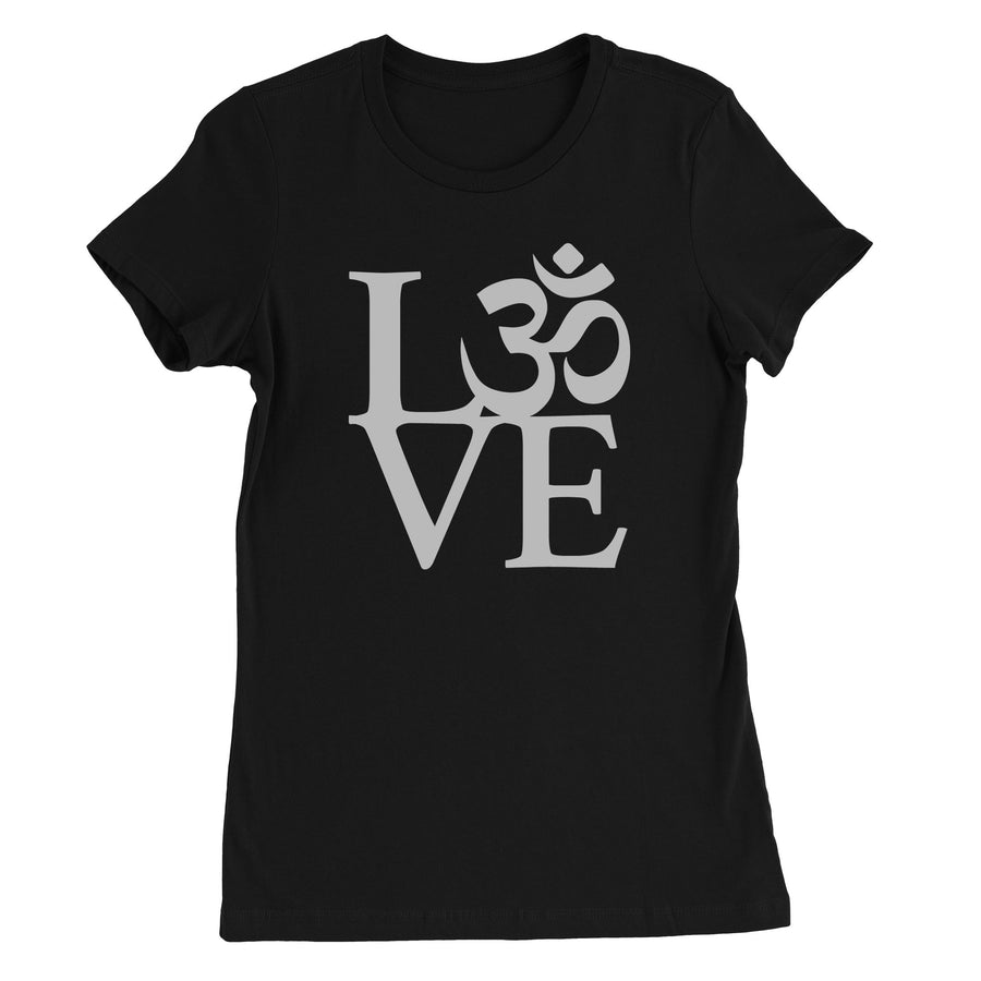 OM Love Women's T-Shirt - White Design