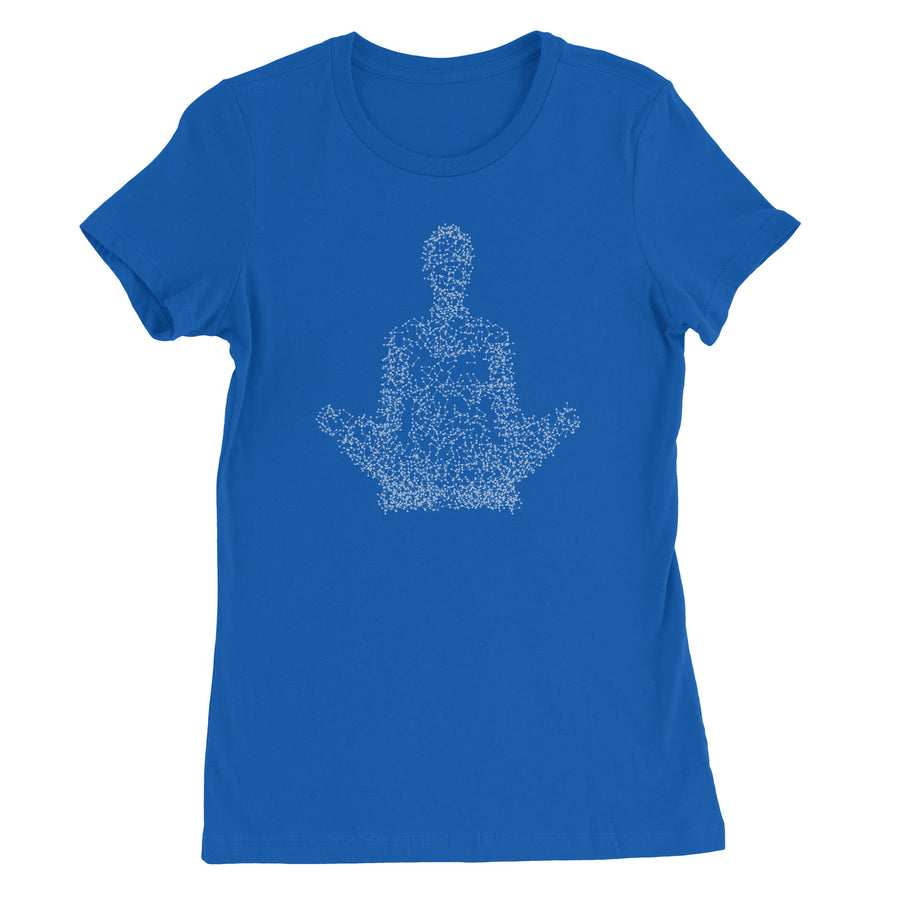 The Point of Meditation Women's T-Shirt - White Design