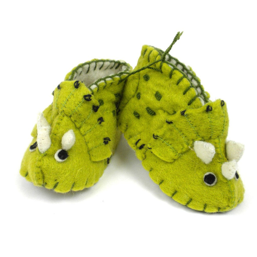 Baby Triceratops Zooties - Silk Road Bazaar (Fair Trade)