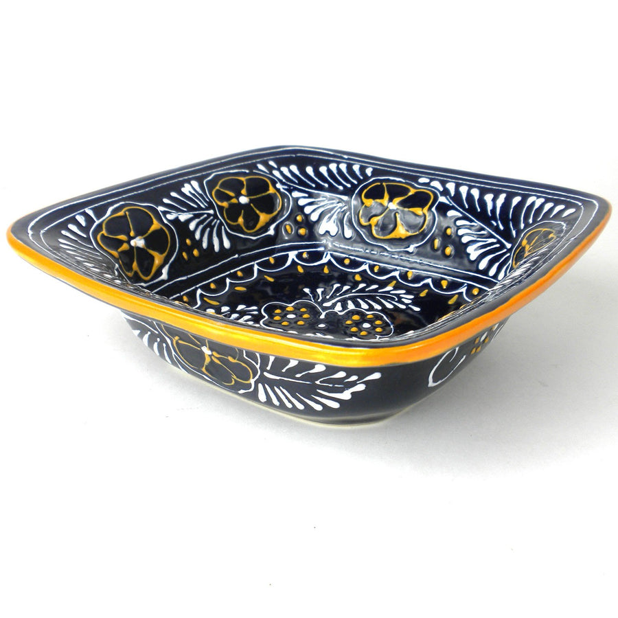 Flared Serving Bowl - Blue - Encantada (Fair Trade)