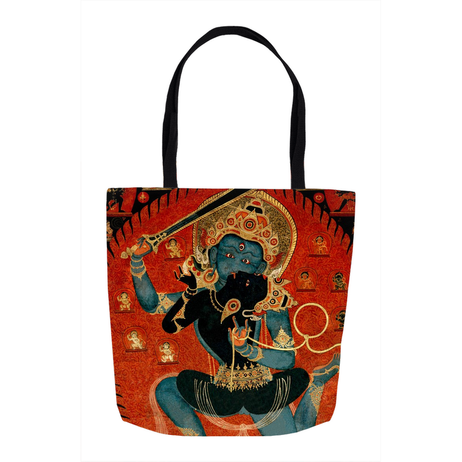 The Divine Couple Beyond Time Tote Bags