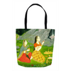 The Mood of Devotion Tote Bags