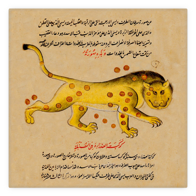 Arabic Astrological Signs 12th Century Metal Magnets